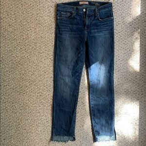 7 For All Mankind (b)air Authentic Ankle Jeans